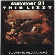 Click here for more info about 'Thin Lizzy - Summer '81 - EX'
