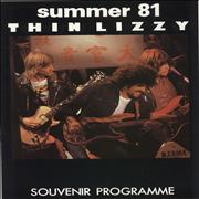 Click here for more info about 'Thin Lizzy - Summer '81'