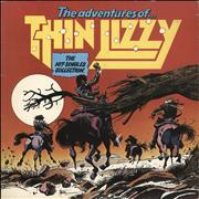 Thin Lizzy The Adventures Of Thin Lizzy: The Hit Singles Collection UK vinyl LP