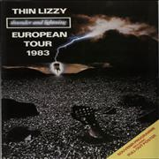 Click here for more info about 'Thin Lizzy - Thunder & Lightning + Ticket Stubs'