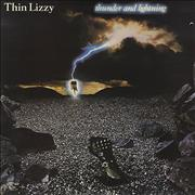 Click here for more info about 'Thin Lizzy - Thunder And Lightning + EP - EX'