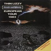 Click here for more info about 'Thin Lizzy - Thunder And Lightning + Poster & Ticket Stub'