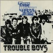 Click here for more info about 'Thin Lizzy - Trouble Boys - Paper labels'