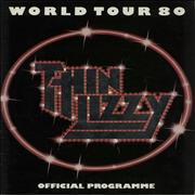 Click here for more info about 'Thin Lizzy - World Tour 80 + Ticket Stub'