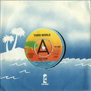 Click here for more info about 'Third World - Talk To Me - A Label'