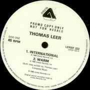 Click here for more info about 'Thomas Leer - International'