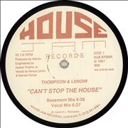 Click here for more info about 'Thompson & Lenoir - Can't Stop The House'