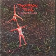 Click here for more info about 'Thompson Twins - In The Name Of Love + Sleeve'