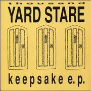 Click here for more info about 'Thousand Yard Stare - Keepsake E.P. - Lyric insert'