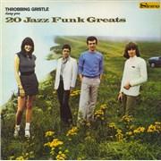 Throbbing Gristle 20 Jazz Funk Greats + Poster UK vinyl LP
