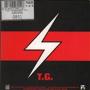 Throbbing Gristle Music From The Death Factory - Box 1-2-3 UK 3-CD set