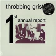Throbbing Gristle The First Annual Report Italy vinyl LP