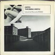 "Throbbing Gristle United - 1st - EX UK 7"" vinyl"
