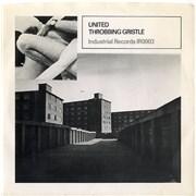"Throbbing Gristle United - 1st UK 7"" vinyl"