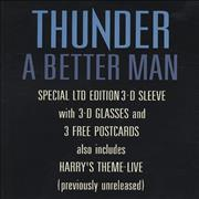Click here for more info about 'Thunder - A Better Man - 3-D Sleeve + Glasses'