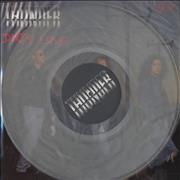 Click here for more info about 'Thunder - Dirty Love - Clear vinyl'