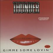 Click here for more info about 'Thunder - Gimme Some Lovin' - Red Vinyl'
