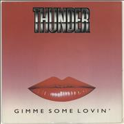 Click here for more info about 'Thunder - Gimme Some Lovin''