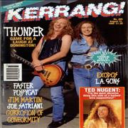 Click here for more info about 'Kerrang! Magazine - Kerrang! Magazine - Aug 92'
