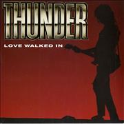 Click here for more info about 'Thunder - Love Walked In'
