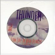 Click here for more info about 'Thunder - Low Life In High Places'