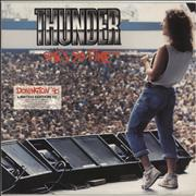 Click here for more info about 'Thunder - She's So Fine - Donington' 90 - Blue Vinyl'