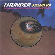Click here for more info about 'Thunder - Stand Up + Poster'