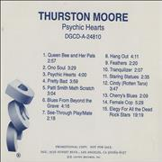 Click here for more info about 'Thurston Moore - Psychic Hearts'