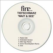 Click here for more info about 'Tiefschwarz - Wait & See'