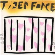 Click here for more info about 'Tiger Force - Go Back To Your Glass House / Teeeeth - Hearts artwork'