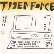 Click here for more info about 'Tiger Force - Go Back To Your Glass House / Teeeeth - Monitor/keyboard artwork'