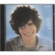 Tim Buckley Goodbye & Hello Germany CD album