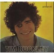 Tim Buckley Goodbye And Hello - Gold Label USA vinyl LP