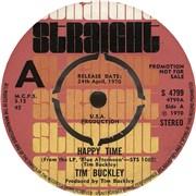 "Tim Buckley Happy Time - A Label UK 7"" vinyl Promo"