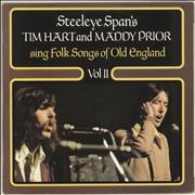 Click here for more info about 'Tim Hart & Maddy Prior - Folk Songs Of Olde England Volume II - Alternate cover'