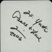 Click here for more info about 'Tim Hines - Page Of An Autograph Book'