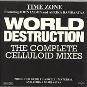 Click here for more info about 'Timezone - World Destruction (The Complete Celluloid Mixes) - RSD17'