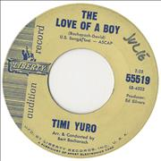 Click here for more info about 'Timi Yuro - The Love Of A Boy'