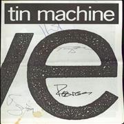 Click here for more info about 'Tin Machine - Live - Fully Autographed + ticket stub'