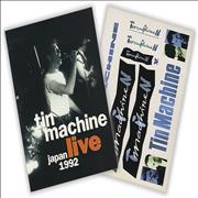 Click here for more info about 'Tin Machine - Live Japan 1992 + Promo Stickers'