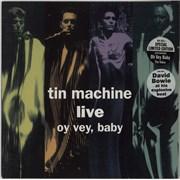 Tin Machine Oy Vey, Baby UK vinyl LP