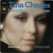 Click here for more info about 'Tina Charles - Love Me Like A Lover'