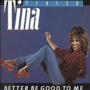 Click here for more info about 'Tina Turner - Better Be Good To Me - Factory Sample'