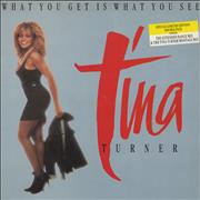 Click here for more info about 'Tina Turner - What You Get Is What You See - Gatefold'