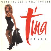 Click here for more info about 'Tina Turner - What You Get Is What You See'