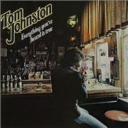 Click here for more info about 'Tom Johnston - Everything You've Heard Is True'