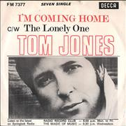 Click here for more info about 'Tom Jones - I'm Coming Home + P/S'