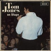 Click here for more info about 'Tom Jones - On Stage EP - P/s'