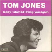 Click here for more info about 'Tom Jones - Today I Started Loving You Again'
