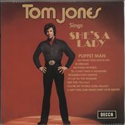 Click here for more info about 'Tom Jones - Tom Jones Sings She's A Lady'